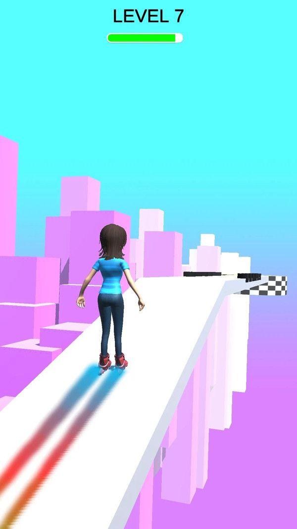 溜冰传奇游戏